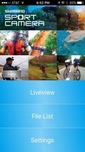 Shimano Camera App