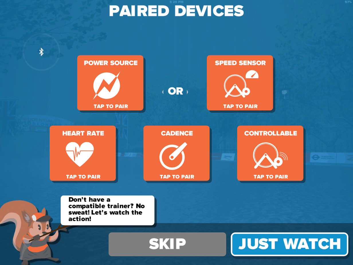 Zwift for iOS