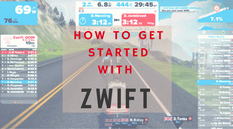 how to get started with zwift