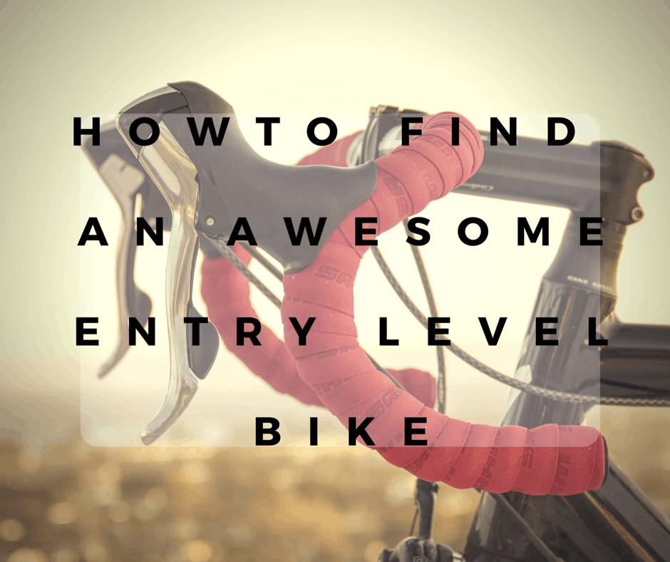 entry level road bike