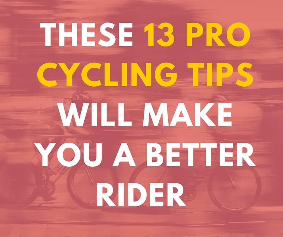 road biking tips