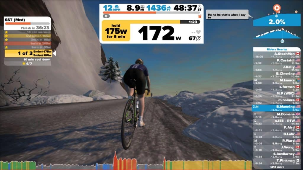 zwift mountain route