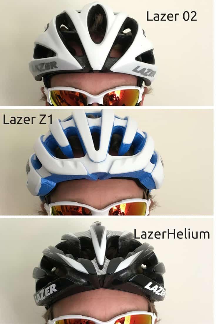 Lazer O2 vs Helium vs Z1