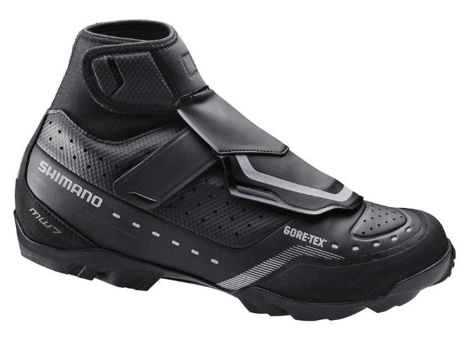 Shimano MW7 winter mountain bike shoes