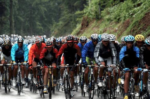 Cycling rain gear