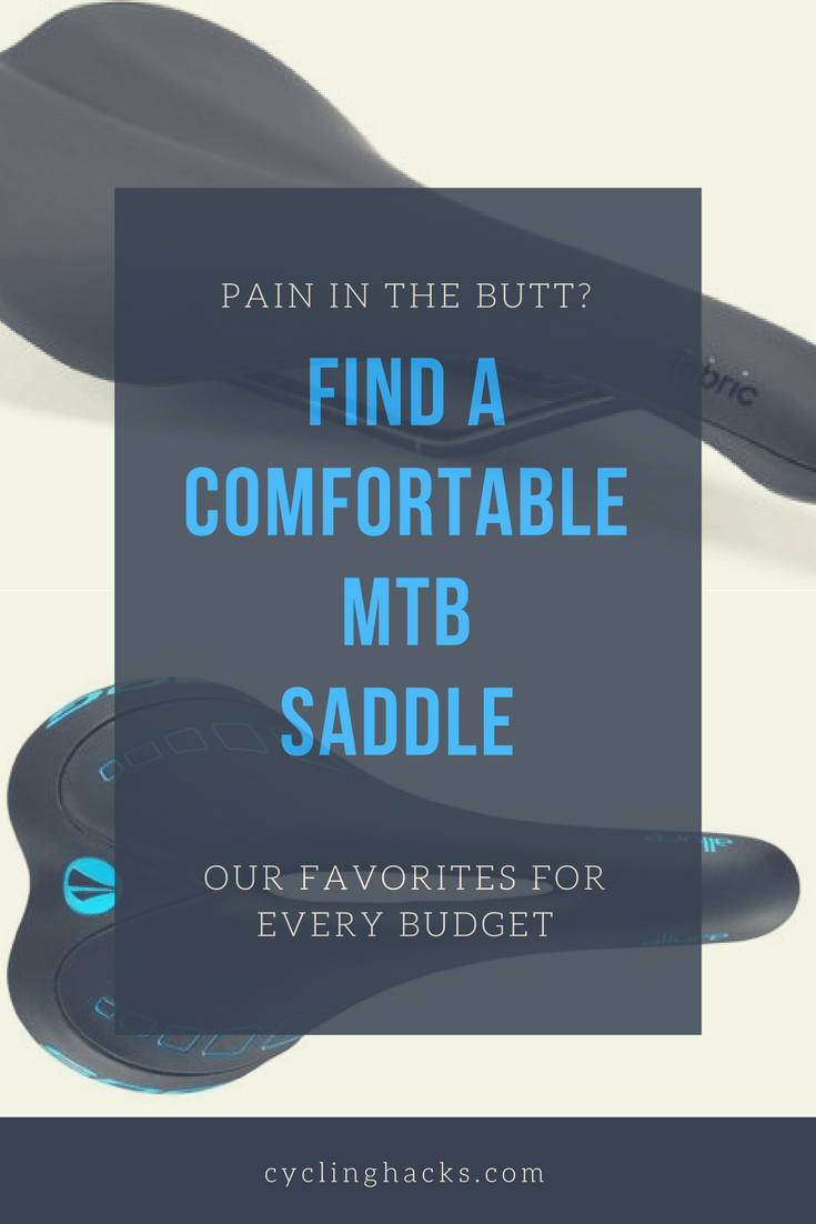 best mtb saddle