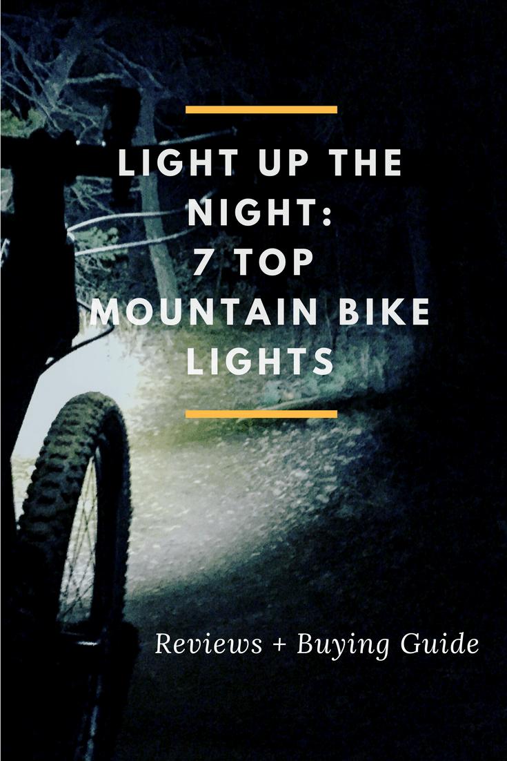 best bike lights for mountain biking