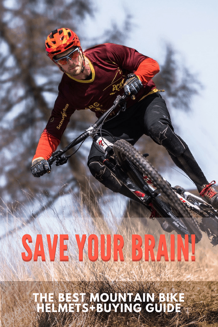 Save Your Brain! The Best Mountain Bike Helmets+Buying Guide