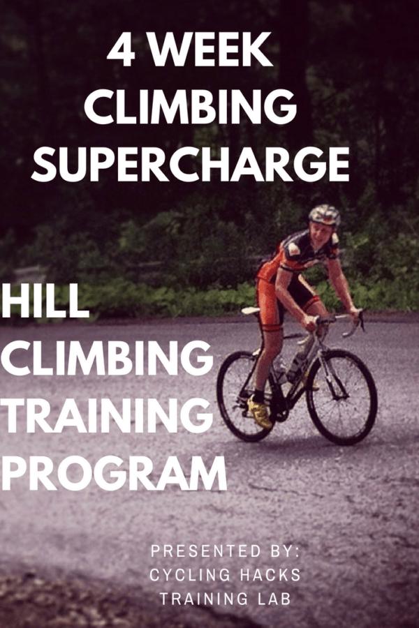 cycling hill climbing training program