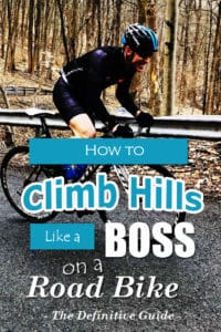 how to climb hills on a road bike