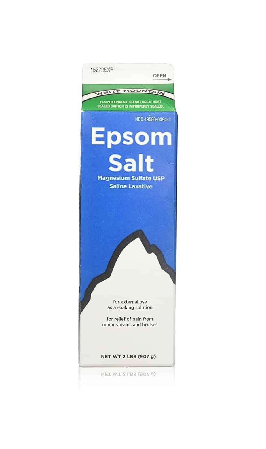 White Mountain Epsom Salt   Amazon